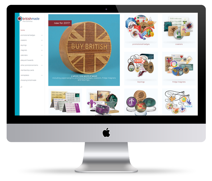 britishmade merchandise website image
